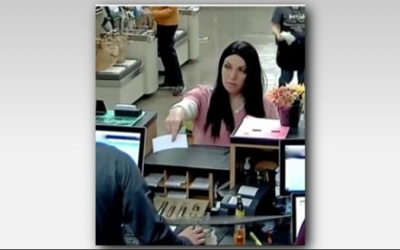 Can You Identify This Woman Cashing Counterfeit Checks?