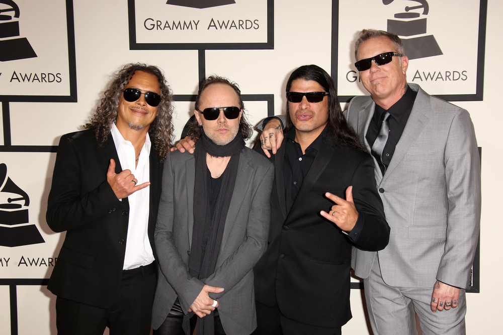 Metallica is Raising Money for Service Industry Workers