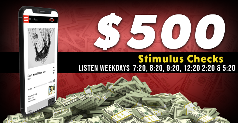 Win $500 With The I Rock Stimulus Package